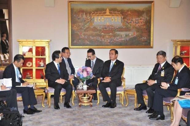 ประธาน JETRO เข้าเยี่ยมคารวะนายกรัฐมนตรี บิ๊กตู่ฝากช่วยสนับสนุนการแปรรูปยางพาราไทย